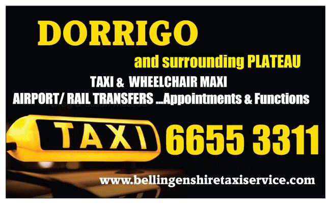 Dorrigo Taxi
