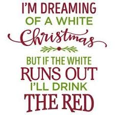 christmas white quote
